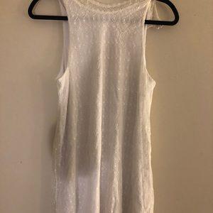 Francescas White Lace Dress